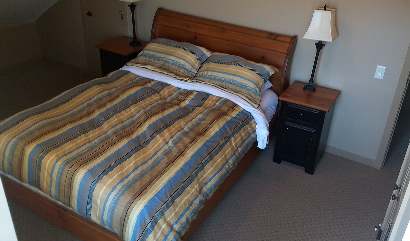 392 Master bed view 1